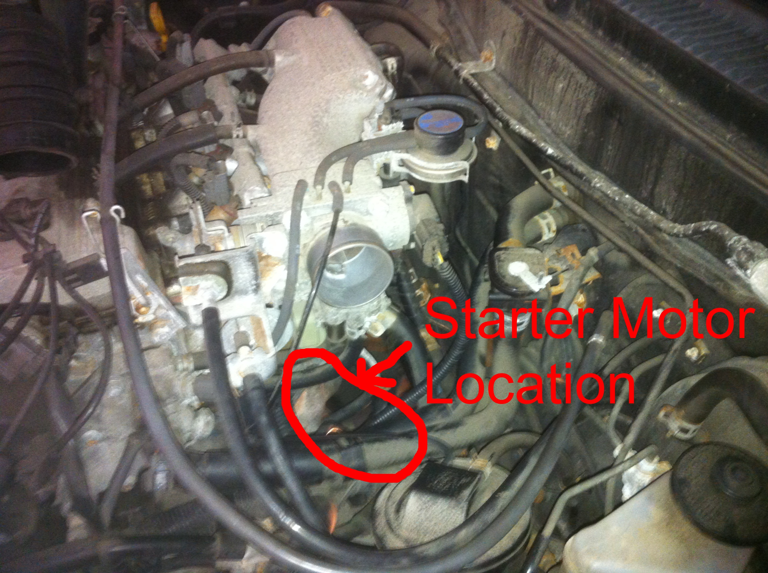 Где в тойоте королла находится номер двигателя